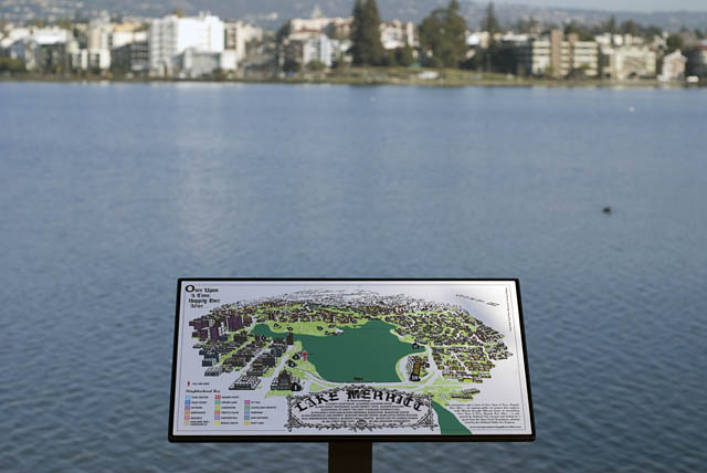 Lake Merritt Interpretive Signage : Surrounding Neighborhoods